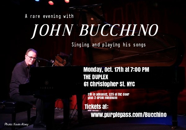 An Evening with John Bucchino