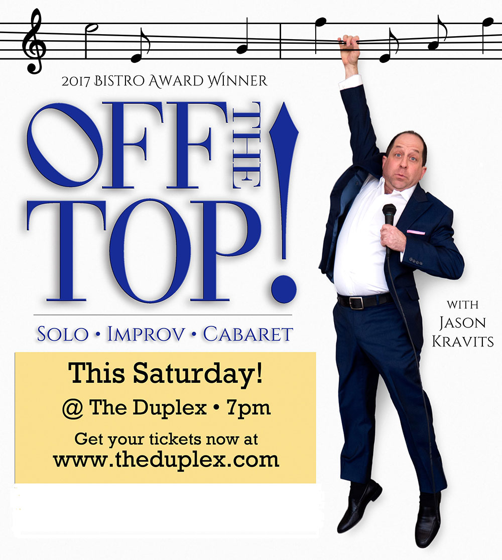 JASON KRAVITS in Off the Top!