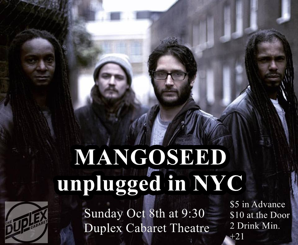 MANGOSEED unplugged in NYC