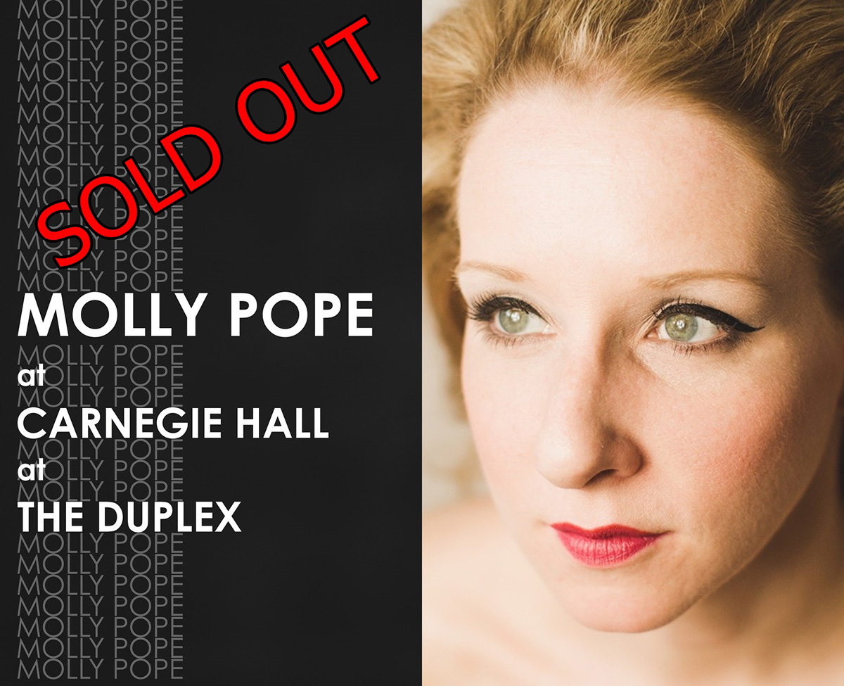 Molly Pope: Live at Carnegie Hall at The Duplex
